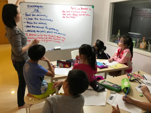 Punggol Tuition Centre English Creative Writing Primary Pri 1,2,3,4,5,6 PSLE MOE Syllabus Small Group Tuition with qualified tutors